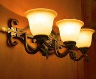 Sombra de lámpara del pasillo Fotos de archivo