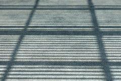 Sombra de la azotea Foto de archivo