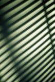 Sombra de la pared de las persianas foto de archivo