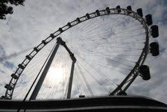 Sombra de la rueda de Ferris Fotos de archivo libres de regalías
