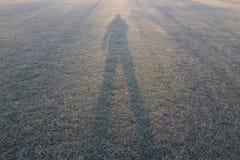 Sombra de las derechas Foto de archivo libre de regalías