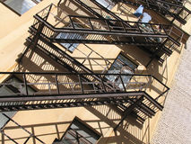 Sombra de las escaleras - 1 Imágenes de archivo libres de regalías