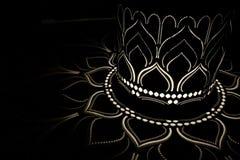 Sombra de Lotus imagens de stock