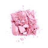 Sombra de ojo rosada fotografía de archivo