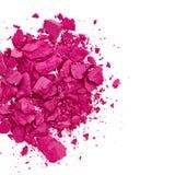 Sombra de ojo rosada fotografía de archivo libre de regalías