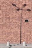 SOMBRA DE POSTE LIGERO fotos de archivo