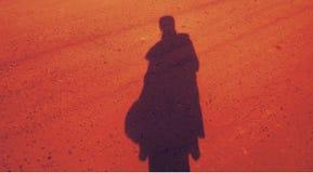 Sombra de una mujer Fotos de archivo libres de regalías