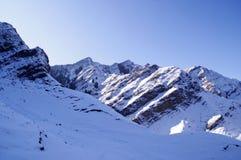 Nieve de la montaña de Tianshan Fotos de archivo libres de regalías