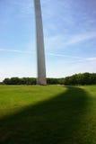Sombra del arco del Gateway Imagen de archivo