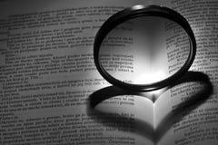 Sombra del corazón Fotografía de archivo libre de regalías