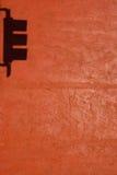 Sombra del semáforo Foto de archivo
