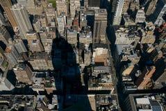 Sombra do estado do império fotografia de stock