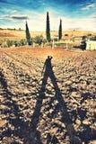 Sombra do homem Imagem de Stock