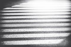 Sombra dos trilhos na ponte Imagens de Stock