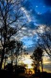 Sombra e luz Royaltyfria Foton
