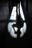 Sombra no corredor Imagem de Stock