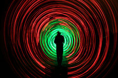 A sombra rodden Imagem de Stock