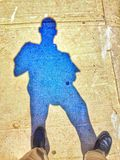 Sombrablauw Royalty-vrije Stock Foto