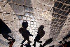 Sombras Imágenes de archivo libres de regalías