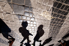 Sombras Imagens de Stock Royalty Free
