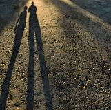 sombras Fotografía de archivo libre de regalías