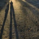 sombras Fotografia de Stock Royalty Free