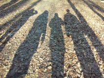 sombras Imagem de Stock
