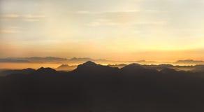 Sombras da montanha Fotografia de Stock Royalty Free