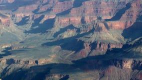 Sombras da nuvem de Timelapse no Grand Canyon video estoque