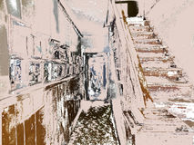 Sombras de Brown, blancos y negros Fotografía de archivo libre de regalías