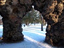 Sombras de grutas Imagenes de archivo