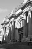 Sombras de la mañana en el museo de arte metropolitano Foto de archivo libre de regalías