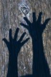 Sombras de la mano fotografía de archivo libre de regalías