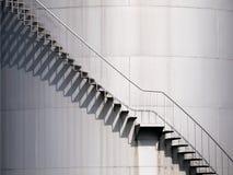 Sombras de las escaleras imágenes de archivo libres de regalías