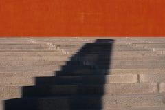 Sombras de las sombras solamente Fotos de archivo libres de regalías
