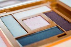 Sombras de ojos Imágenes de archivo libres de regalías