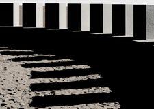 Sombras de pedra Fotografia de Stock Royalty Free