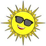 Sombras de Sun stock de ilustración