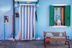 Sombras del azul fotos de archivo