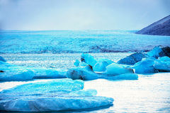 Sombras del azul Foto de archivo