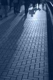 Sombras dos povos Fotos de Stock