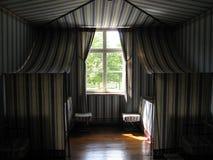 Sombras en el cuarto del circo Fotos de archivo