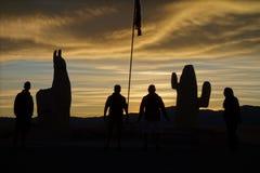Sombras - grandes dos Salinas/grandes salines - salta & jujuy, Argentina fotos de stock royalty free