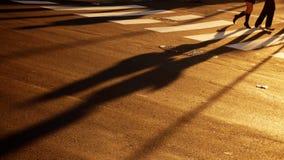 Sombras largas Fotografía de archivo libre de regalías