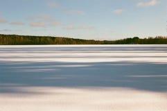 Sombras no lago foto de stock