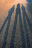 Sombras que terminam nos borrões fotos de stock royalty free
