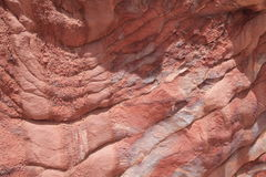 Sombras rosadas del Petra Imágenes de archivo libres de regalías