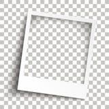 Sombras transparentes del marco inmediato biselado de la foto libre illustration