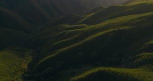 Sombras y luz en reserva de naturaleza de Jonkershoek metrajes