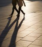 Sombras y siluetas Fotos de archivo libres de regalías